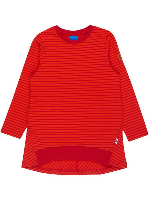 Finkid Lumikki - Camiseta de manga larga Niños - rojo